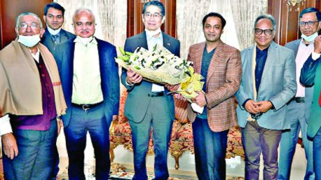 Japanese envoy lauds BD developments