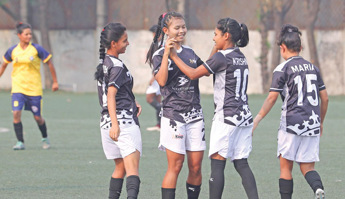 Kings off to flying start as Women's Football League gets underway
