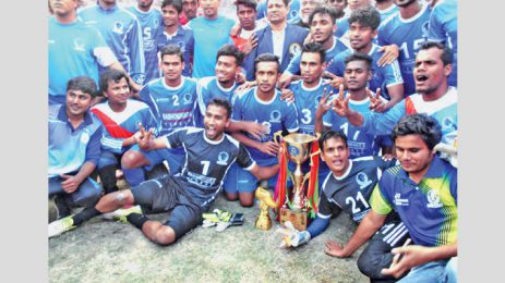 Sheikh Russel KC crowned champion