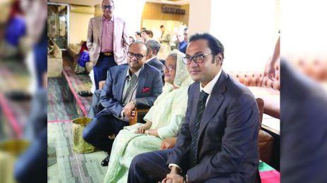 Sayem Sobhan Anvir Attended the BBPL Opening Ceremony