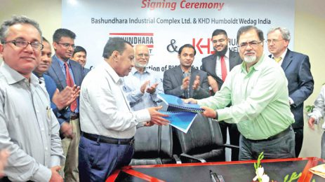 Bashundhara Cement inks deal with KHD Humboldt Wedag