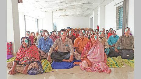 Second phase of DWS cataract surgery ends
