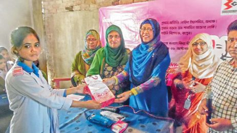 Monalisa conducts campaign on menstrual hygiene