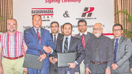 Bashundhara Cement signs deal with Chinese firm