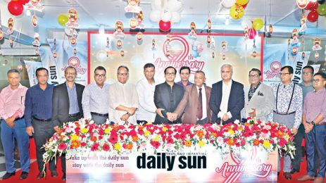 Sayem Sobhan Anvir Launched the 10th Anniversary of the Daily Sun