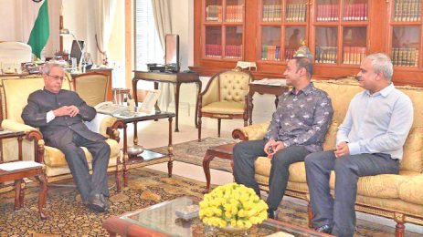 Managing Director of Bashundhara Group meets the Indian President
