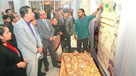 Bashundhara Cement supports urban design project exhibitio