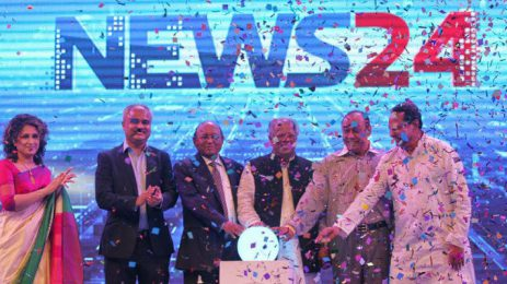 Satellite TV channel News24 launched