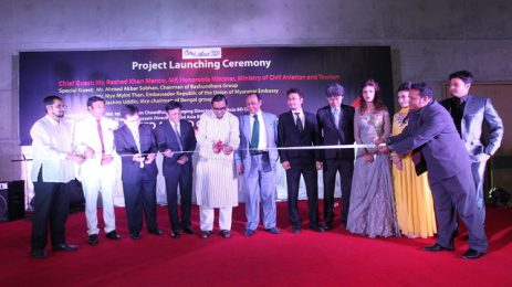 Japanese company launches residential complex project at Bashundhara
