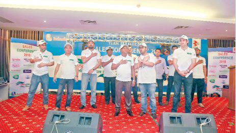 Confce for BPML sales reps held in Cox's Bazar